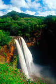 Wailua Falls in Mauai, Hawaii