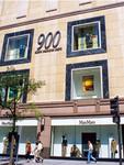 Shopping mall exterior, 900 N. Michigan Avenue.