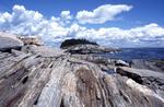 Little Thrumcap Island off coast of Maine a bird reserve for nesting birds