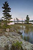 Sunset in Cranberry Bay, Minnesota