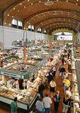 Shoppers at Westside Market in Cleveland
