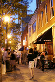Cleveland night life in Wharehouse District
