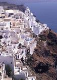 Village of Santorini in Greece