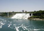American Falls view from Niagara Falls Canada