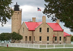 Old Mackinac Point Lighthouse in Michigan