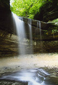Waterfall in LaSalle Canyon