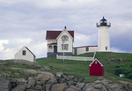 Nubble Lighthouse in late summer