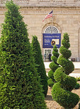 The United States Botanic garden front exterior view