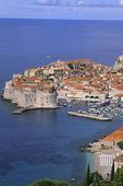 beautiful coast resort old city of Dubrovnik Croatia