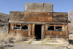 patsville saloon, mining ghost town relic, near Mt. city, NV