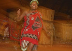 Dancer at Lesedi African Lodge, a World Heritage Site