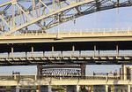 Bridge in Cleveland, Ohio.