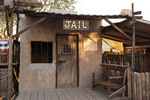 Jail in the mining town of Goldfield, Arizona.