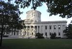 State Capitol building in Columbus, Ohio.