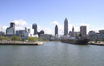 Cleveland Skyline from Lake Erie.