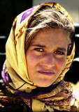 Afghanistan female portrait.
