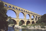 Pont du Gard in France.