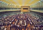 Stock exchange in Tokyo.