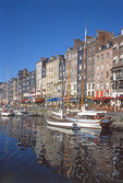 Honfleur in Normandy, France.