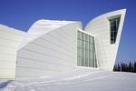 University of Alaska, Museum of the North architecture in Fairbanks, Alaska.