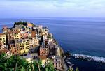 Beautiful town of Manarola in Italy.