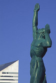 Peace Memorial statue in Cleveland, Ohio.