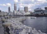 Cleveland skyline.