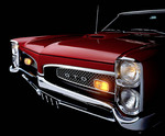 1967 Pontiac GTO from the front