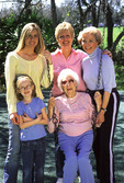 Five generations of women from same family