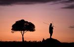 African landscape, Kenya.