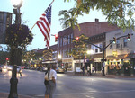 Downtown Willoughby, Ohio on a Friday evening