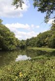 Scenic view of the Upper Cuyahoga river in Geuaga County