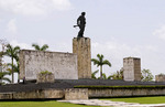 Burial place and monument for Che leader of Cuba Revoltution in Santa Clara Cuba