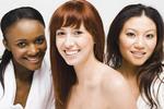 Three women of three different nationalities