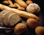 Vareity of fresh baked breads
