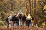 Hiking Club in Hocking Forest, Hocking State Park, Hocking Hills, Ohio