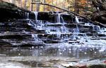 Waterfalls at Penitentiary Glen Park