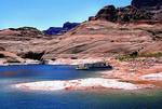 Houseboat, Lake Powell, Glen Canyon National Recreation Area, Utah
