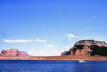 Houseboat on  Lake Powell, Glen Canyon National Recreation Area, Utah