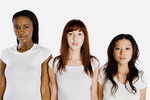 Three women of different races