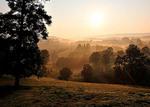 Misty Mountain Sunrise, Webster County, West Virginia