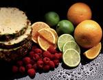 Fresh fruit still life