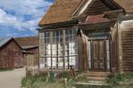 Ghost town buildings, Bodie Ghost Town, California