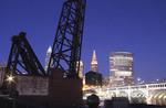Cleveland, Ohio skyline at night