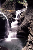 Watkins Glen Gorge in New York