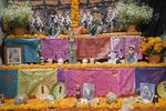 Day of the Dead alter, San Miguel de Allende, State of Guanajuato, Mexico