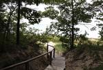 Walkway to the Beach Little Traverse Bay Lake Michigan