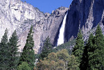 Upper Yosemite Falls in Yosemite National Park