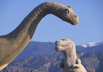 dinosaurs tourist attraction at Banning California