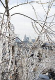 Winter view of Cleveland, Ohio